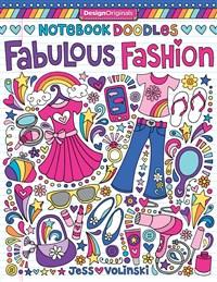 Notebook Doodles Fabulous Fashion
