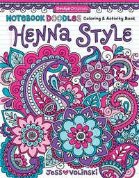 Notebook Doodles Henna Style