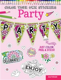 Color Your Own Stickers Party