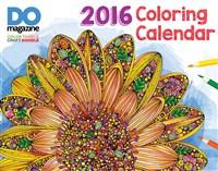 2016 Design Originals Coloring Calendar