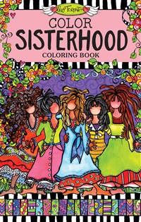 Color Sisterhood Coloring Book