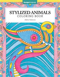 Stylized Animals Coloring Book