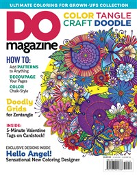 Color, Tangle, Craft, Doodle (#3)