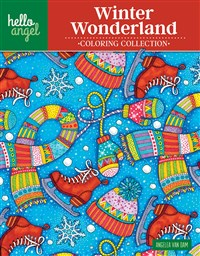 Hello Angel Winter Wonderland Coloring Collection