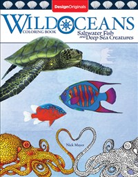 Wild Oceans Coloring Book