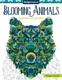 Blooming Animals (Filippo Cardu Coloring Collection)
