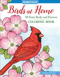 Birds at Home Coloring Book