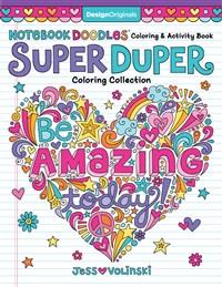 Notebook Doodles Super Duper Coloring & Activity Book