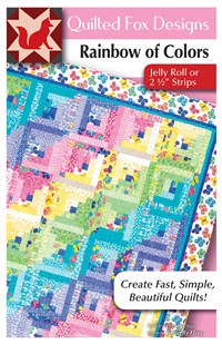 Rainbow of Colors Quilt Pattern