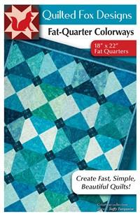 Fat-Quarter Colorways Quilt Pattern