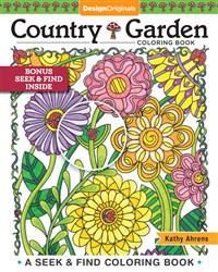 Country Garden Coloring Book