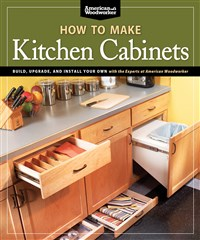 How To Make Kitchen Cabinets (Best of American Woodworker)