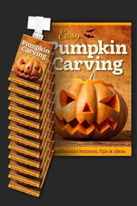 Easy Pumpkin Carving Clip Strip Assembly