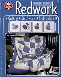 Redwork In Blue