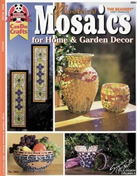Marbleized Mosaics for Home & Garden Decor