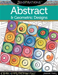 Zenspirations Coloring Book Abstract & Geometric Designs