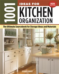 1001 Ideas for Kitchen Organization, New Edition