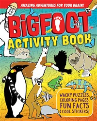 BigFoot Activity Book