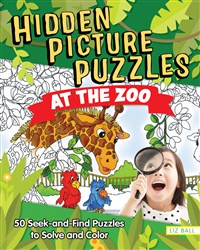 Hidden Picture Puzzles at the Zoo