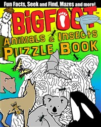 BigFoot Animals & Insects Puzzle Book