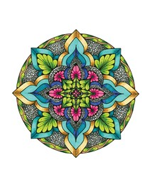 TangleEasy Guided Journal Mandala