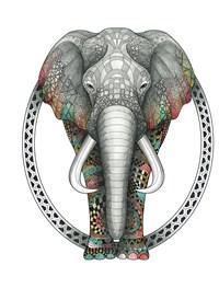 TangleEasy Lined Journal Elephant