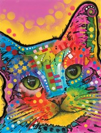 Dean Russo Tilted Head Cat Journal