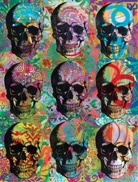 Dean Russo Skull Mosaic Journal