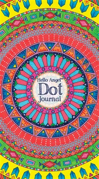 Hello Angel Dot Journal