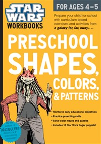 Star Wars Workbook: Preschool Shapes, Colors, and Patterns