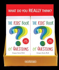 The Kids' Book of Questions 8-Copy Counter Display