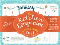 The Kitchen Companion Page-A-Week Calendar 2017