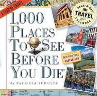 1,000 Places to See Before You Die Page-A-Day Calendar 2017