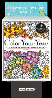 Color Your Year 8-copy Counter Display