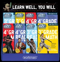 Star Wars Workbook 24-copy 3rd and 4th Grade Mixed Counter Display