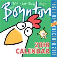 365 Startling Days of Boynton Page-A-Day Calendar 2018