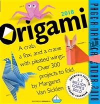 Origami Page-A-Day Calendar 2018