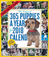 365 Puppies-A-Year Picture-A-Day Wall Calendar 2018