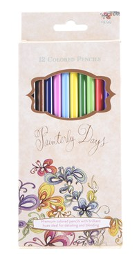 Painterly Days: 12 Colored Pencils