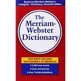 Merriam Webster Dictionary International Edition