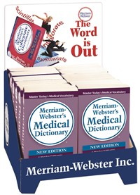 12-Copy Medical Dictionary Counter Display