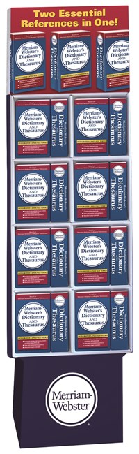 Merriam Webster's Dictionary and Thesaurus 24-Copy