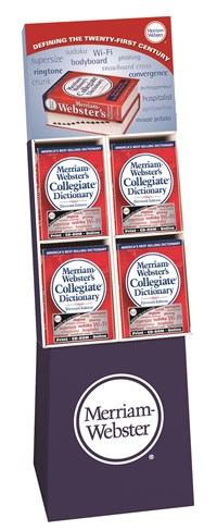 Merriam-Webster's Collegiate Dictionary 12-Copy Floor Display