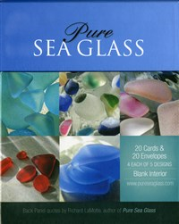 Pure Sea Glass Notecards, Series 3