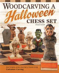 Woodcarving Holiday Chess Sets