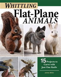 Carving Animals in the Flat-Plane Style