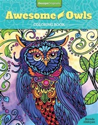 Awesome Owls Coloring Book