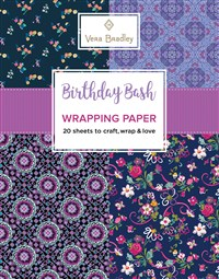 Vera Bradley Birthday Bash Wrapping Paper