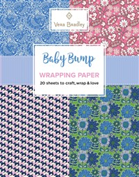 Vera Bradley Baby Bump Wrapping Paper