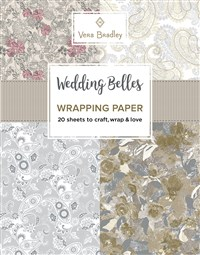 Vera Bradley Wedding Belles Wrapping Paper